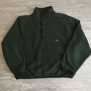 VTG Woolrich T Snap Made In USA Polartec